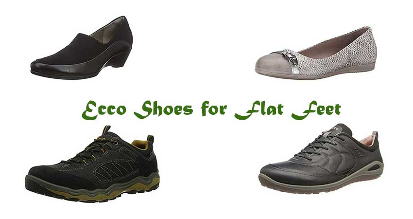Ecco Shoes for Flat Feet