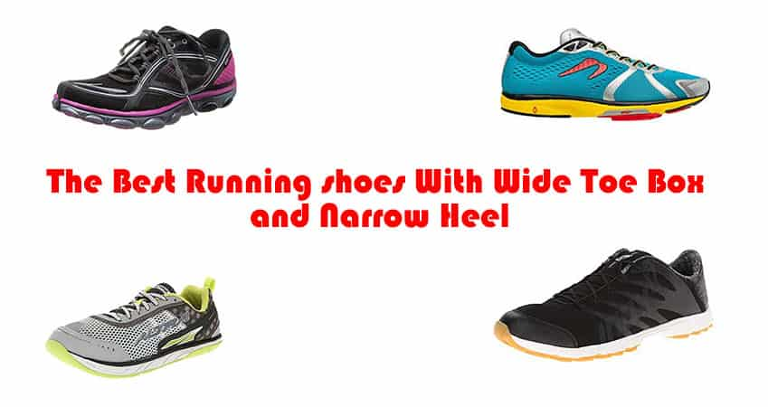 The Best Running shoes With Wide Toe Box and Narrow Heel - ComfortFootwear
